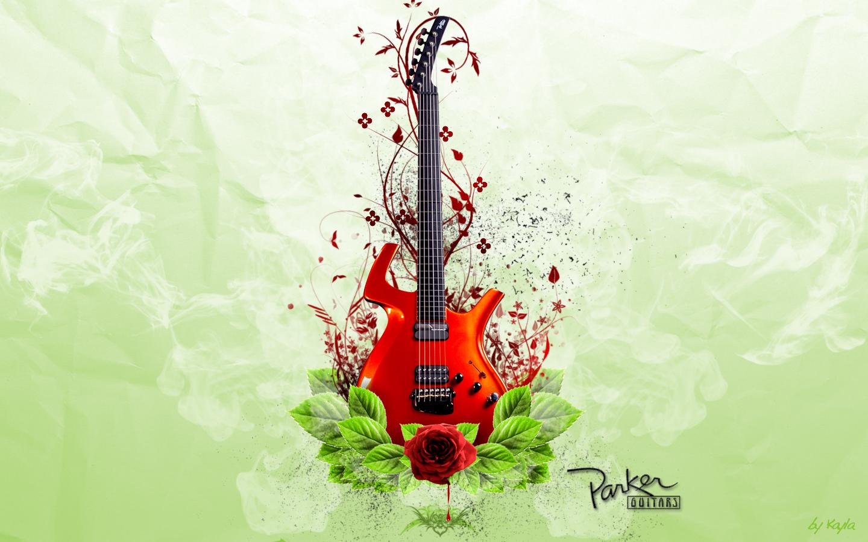 Березням для, фон с гитарой для открытки